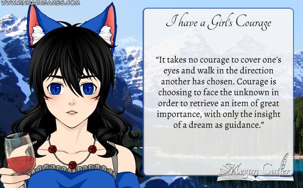 rose - girls courage